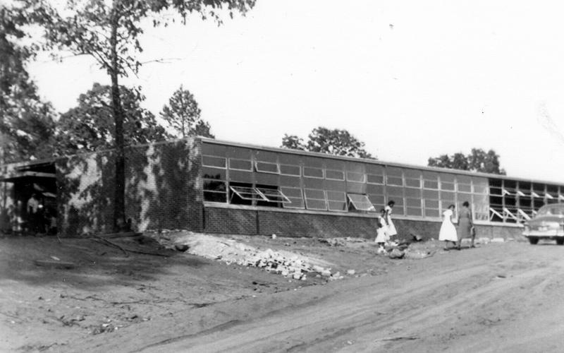 Oak Hill Elementary School was the first and last combined all African-American school in Stephens County.