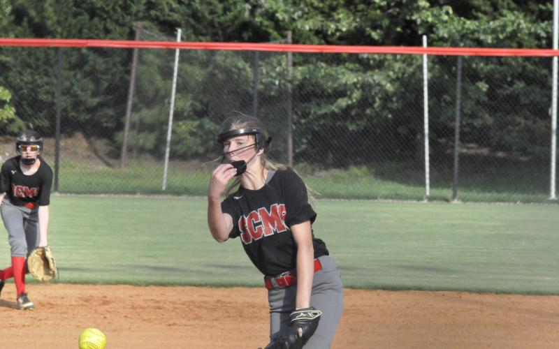 Bailee Shedd delivers a pitch