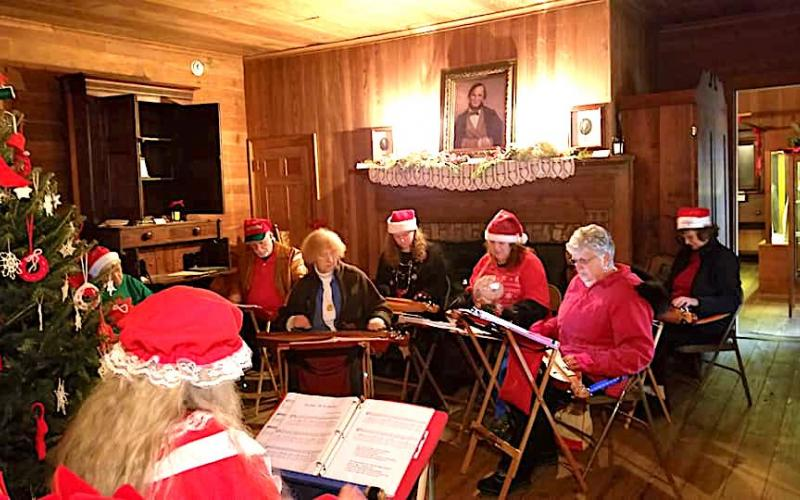Traveler's Rest will be decorated for Christmas at the Inn just as it was in the 1850s.