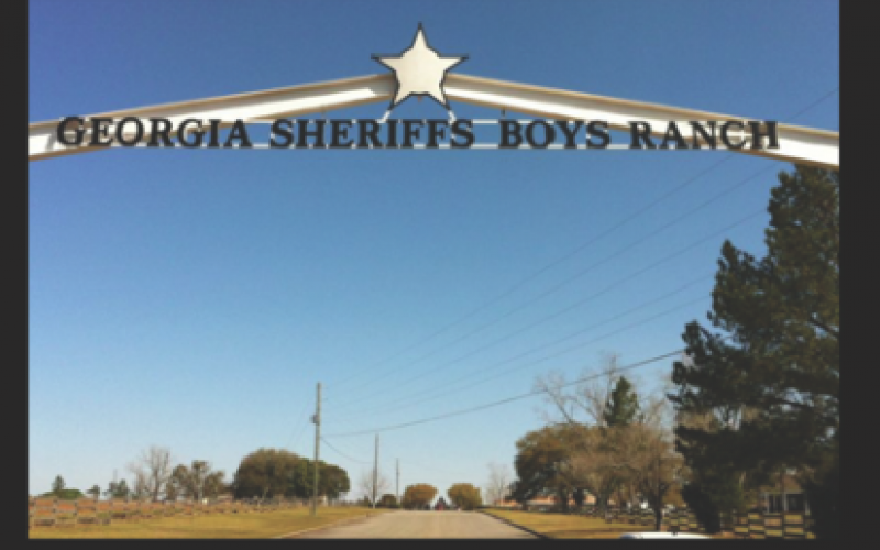 This is the entrance to the Georgia Sheriff's Boys Ranch facility in Hahira. Four other youth homes are located around the state.