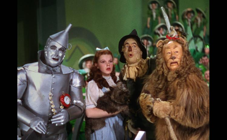The Wizard of Oz featuring the Tin Man, Dorothy, Toto, Scarecrow and the Cowardly Lion will be part of the friends of the Ritz's 80 for 80 Celebration.