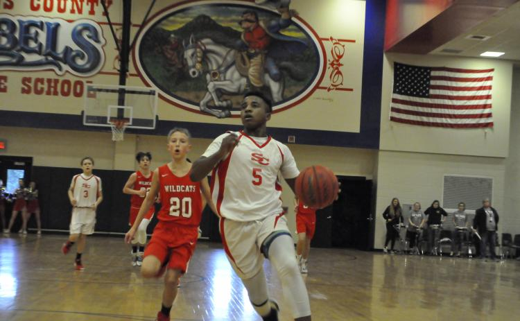 Javin Gordon against Rabun County