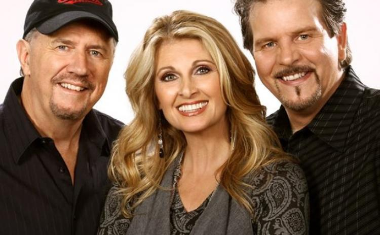 Grammy-winning singer Linda Davis, along with Bill Whyte (left) and Davis' husband Lang Scott (right) will perform in concert at the Ritz Theatre.