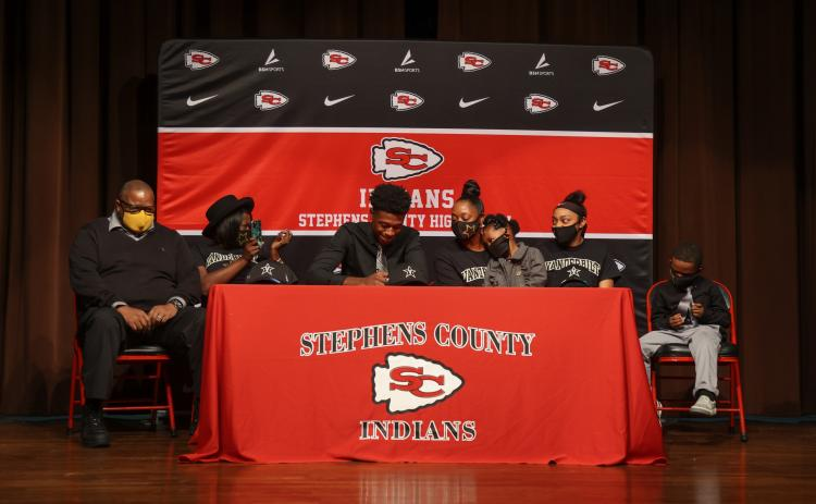 Gamarion Carter on signing day